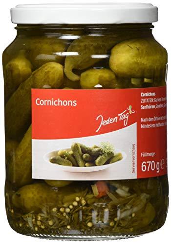 Jeden Tag Cornichons, 670 ml, 210661
