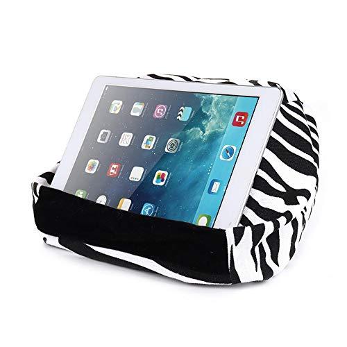 Dynamicoz Kissenständer für iPad, Handykissen-Schoßständer, Magazin-Lesehalter , Tablet-Ständer-Kissenhalter, Schoßständer-Handyhalter, Mehrwinkel-Weichkissen