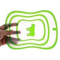 小型 まな板 超薄い マットサポート 安全PP ランダムな色 サイズ M