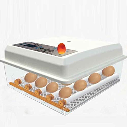 16 Jajka Digital Eggator Inkubator, Auto Turning Eggs Digital Hatcher z funkcją regulacji temperatury Toker, skręcenie jajka do jaj z kurczakami, jajka z kaczki