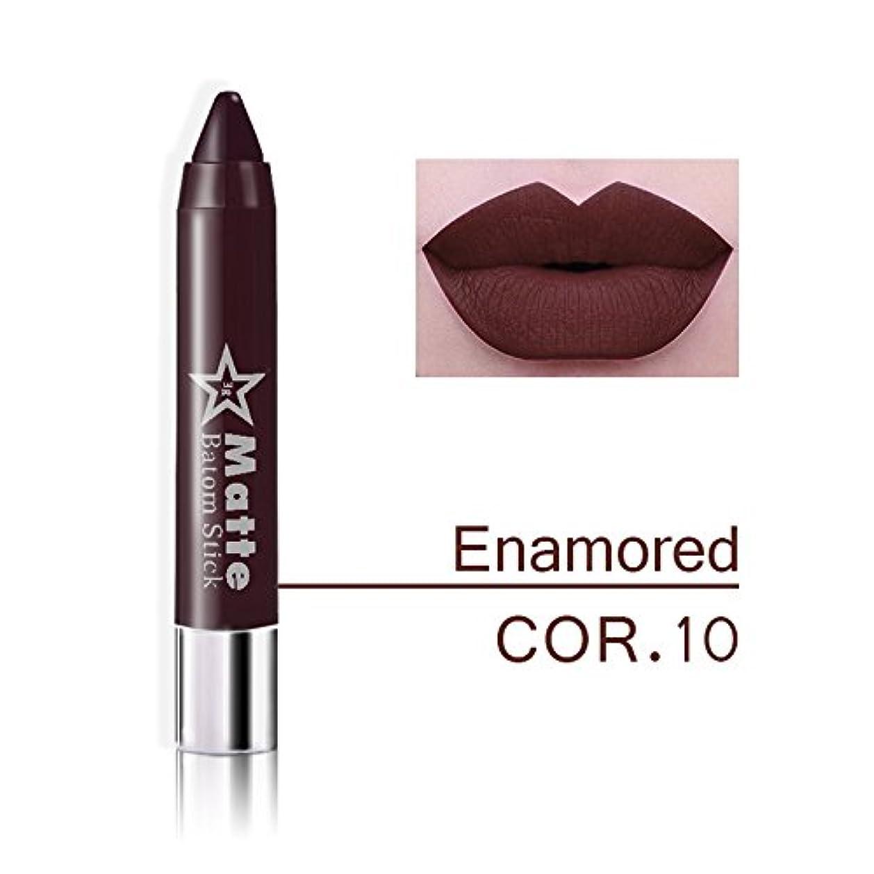 同一性簡略化するからに変化するMiss Rose Brand lips Matte Moisturizing Lipstick Makeup Lipsticks Waterproof matte Lip gloss Mate Lipsticks Make up