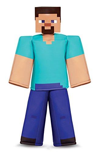 Boys Minecraft Steve Prestige Costume - M