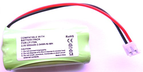 Battery Volt Batterie pour Babyphone numérique COMPATIBLE avec Tomy TD300/TD350850mAh 2,4V