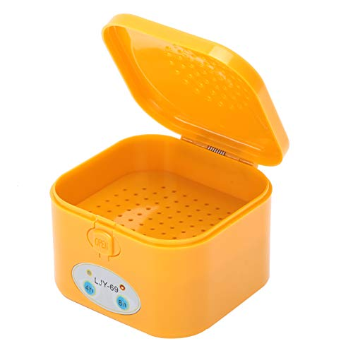 Electric Hearing Aid Dryer Dehumidifier Drying Box Case Portable Automatic Dryer Elderly Hearing Aids Accessory Electronic Cochlear Headphones Dehumidifier