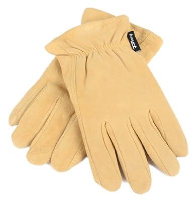 Forney Deerskin Leather Driver Suede Lined Men's Gloves
