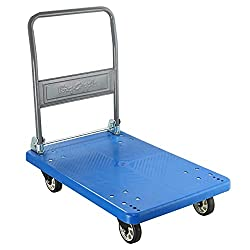 Bigapple WH - 1 150 Heavy Weight King Single Platform Trolley, 150 kg Capacity (Blue),Bigapple,WH - 1(150)