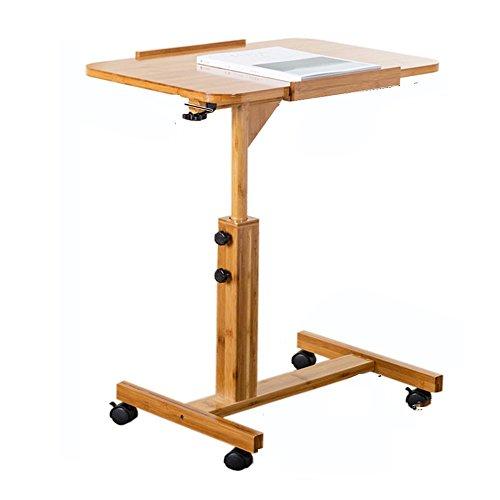 Zaixi nachtkastje, afneembaar, met bureau, kleine tafel, opvouwbaar, eenvoudig (grootte naar keuze), hoog draagvermogen