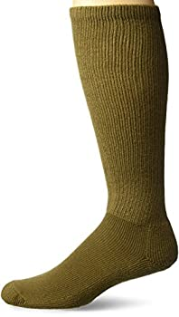 Thorlos Unisex MS Anti-Fatigue Thick Padded Over the Calf Sock Coyote Brown Medium