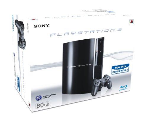 Sony PLAYSTATION 3 Console (80 GB Model) - [Edizione: Regno Unito]