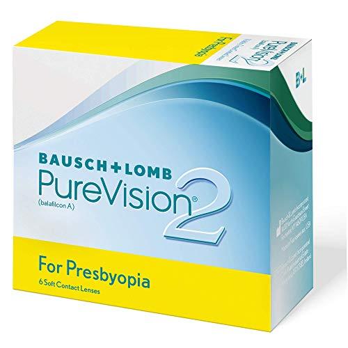 PureVision2 HD for Presbyopia Monatslinsen weich, 6 Stück BC 8.6 mm / DIA 14.5 / 2.5 Dioptrien / ADD High
