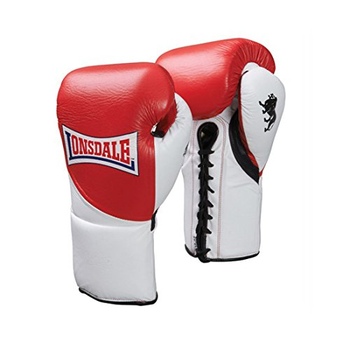 Lonsdale Boxhandschuhe Ultimate, Farbe:red/white;Größe:L