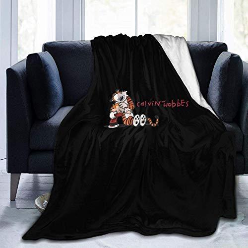 XCNGG Ali Yee Ca.LV-i-n y Ho-b-BES Mantas súper Suaves para sofás, sofás y Camas - Mantas de Felpa 50 'X40'