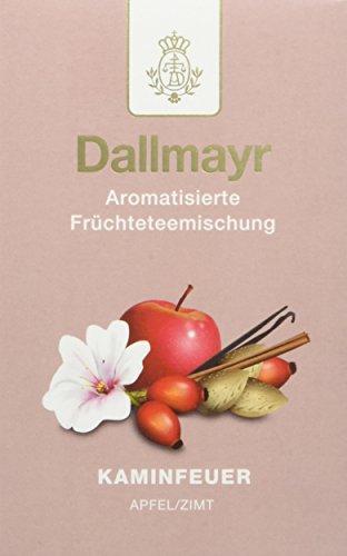 Dallmayr Früchtetee Kaminfeuer, 2er Pack (2 x 100 g)