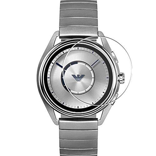 Vaxson 3 Stück Schutzfolie, kompatibel mit Emporio Armani Connected MATTEO ART5006 Smart Watch, Bildschirmschutzfolie TPU Folie [nicht Panzerglas] Neue Version