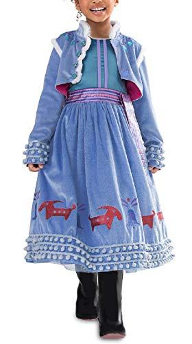 Disfraz de Anna - carnaval - disfraces para niñas - halloween - niña - navidad - dibujos animados - talla 140-5/6 años cosplay