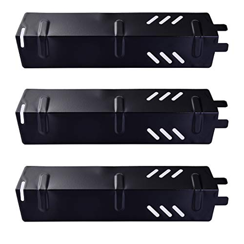 Votenli P9156A (3-Pack) Porcelain Steel Heat Plate for Backyard Grill...