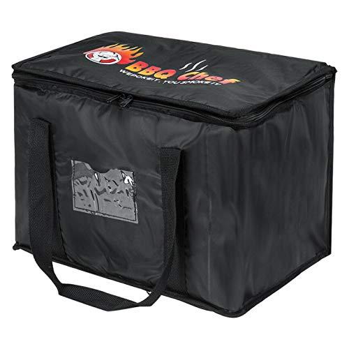 AleohALTER - Bolsa de entrega de comida aislada para el almuerzo plegable impermeable al agua.