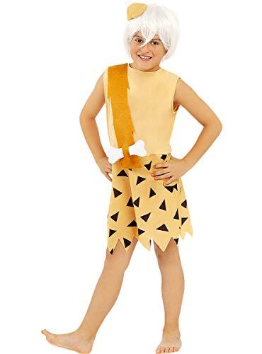 Funidelia   Disfraz de Bam-Bam - Los Picapiedra Oficial para niño Talla 3-4 años ▶ The Flintstones, Dibujos Animados, Los Picapiedra, Cavernícolas
