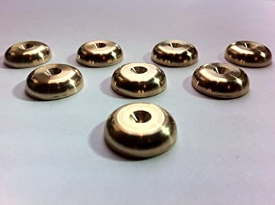 Solid Spikes Set of eight Brass HiFi Speaker Spike Rad Pads by Solid Spikes