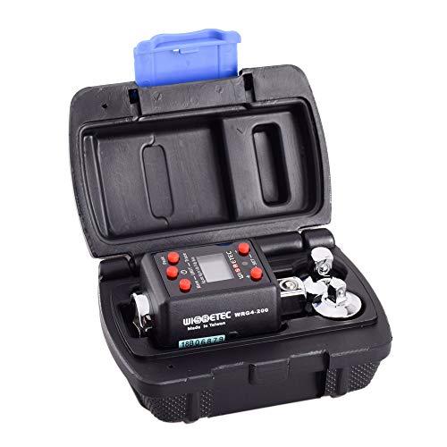 Drehmomentschlüssel, Digitalanzeige Drehmomentmesser Einstellbarer Drehmomentmesser 10-200 Nm Professioneller Universalschlüssel