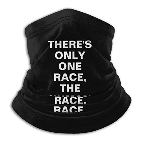 LisaArticles 12-In 1 Bandana,Solo Hay Una Carrera Pañuelo Mágico The Human Race, Pañuelo Mágico A Prueba De Rayos UV para Correr En Deportes,26x30cm