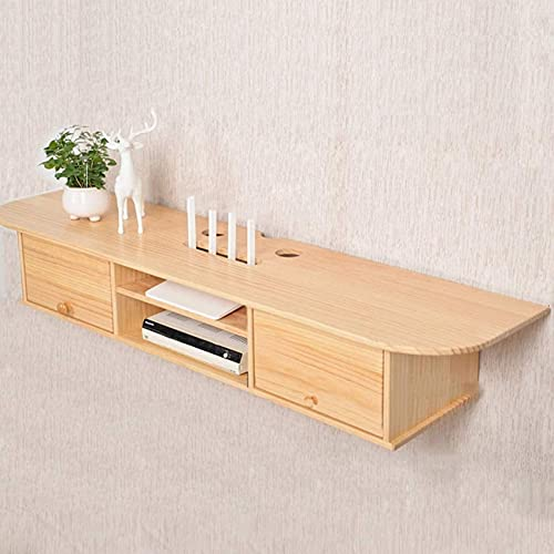 Home Furnishings Floating Tv Unit TV Mount Stands Wooden Wall mounted TV...