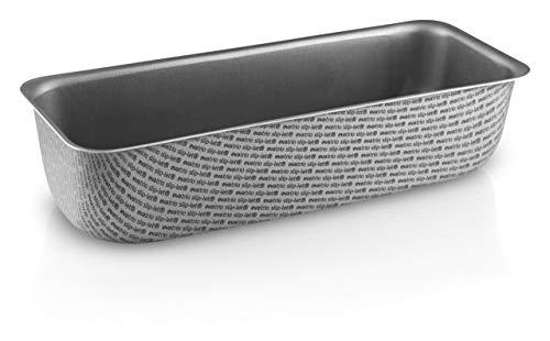 Eva Solo 202024 Brood/Bakblik met Anti-aanbaklaag, PFOA-vrije antislip Slip-Let -coating, aluminium, Grijs, 1,35 l/ 25 cm