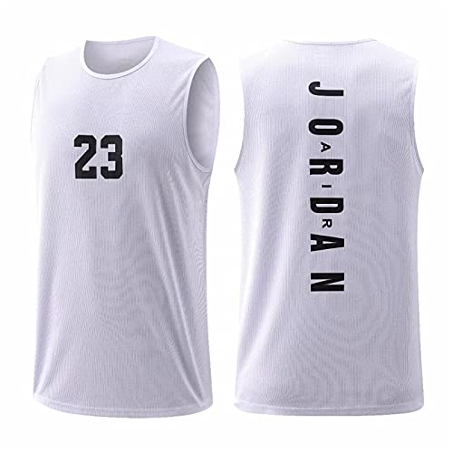 SJYMKYC Bulls Vintage Michael Jordan # 23 Swingman Jersey Basketball Camiseta De Baloncesto De Chicago, Camiseta Deportiva, Camiseta De Partidarios, Chaleco Transpirable De Secado Rápido(XS-5XL)