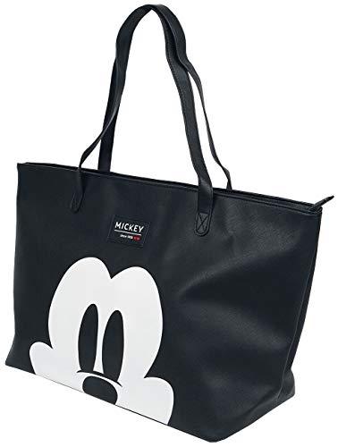 Disney Shopper für Damen Mickey Mouse - 30 L - Schwarz