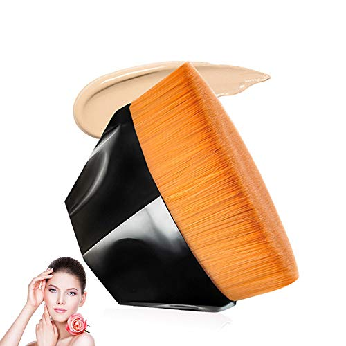Foundation Brush Premium Makeup Brush Soft Silky Synthetic Fiber Brush for Liquid Foundation Cream Powder Makeup Best Brush