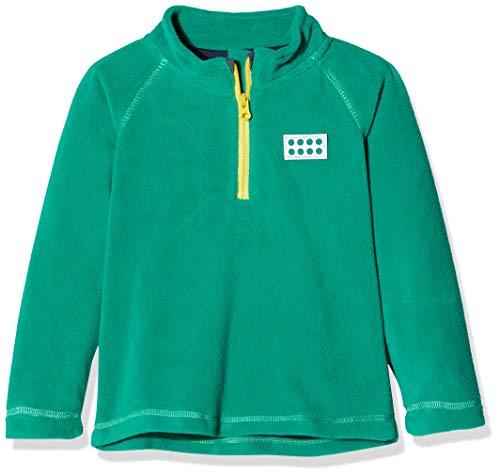Lego Wear Duplo Unisex Lwsirius 701-Fleece Pullover Pull, Vert (Dark Green 875), 104 Mixte bébé