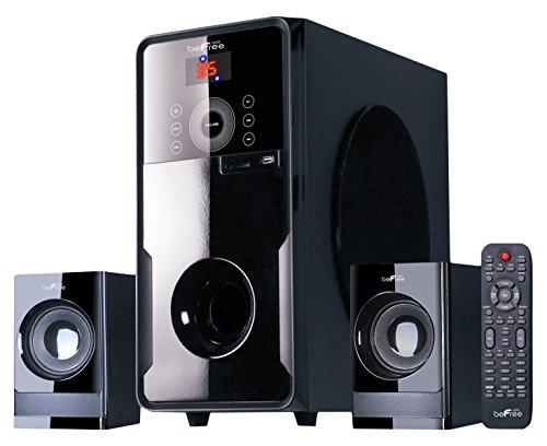 beFree Sound BFS-50 2.1 Channel Surround Sound Bluetooth Speaker System