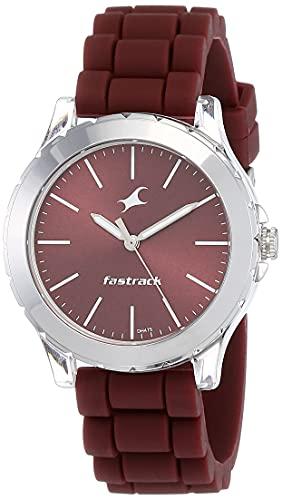 Fastrack Trendies Analog Red Dial Women's Watch NM68009PP06/NN68009PP06