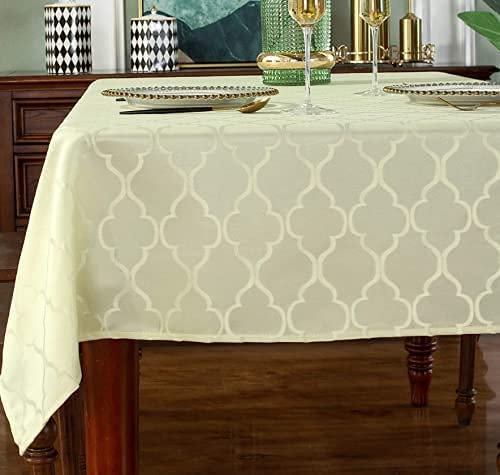 Rainlin Jacquard Tablecloth for Pattern Polyest NEW Sale SALE% OFF Tables Rectangle
