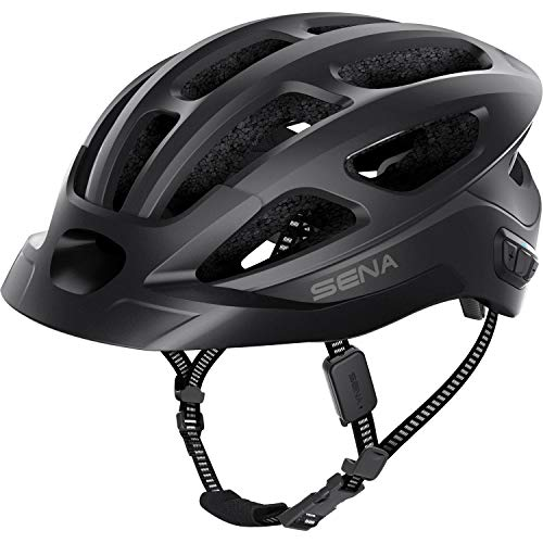 Sena R1 EVO CS Smart Helmet (Matte Black, Medium)
