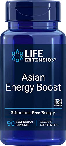 Life Extension Asian Energy Boost - 90 vcaps