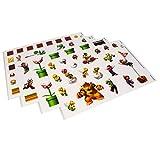 Paladone Super Mario Bros. Gadget Decals - Vinyl Sticker Clings - 4 Sheets