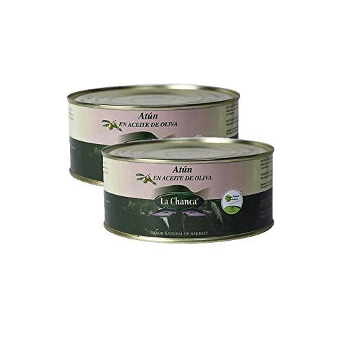 Thunfisch in Olivenöl - 1000 g Dose - Conservas La Chanca (2 Dosen)