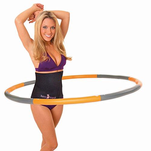 Hoopomania Weight Hoop, Hula Hoop mit Schaumstoffüberzug 1,5kg