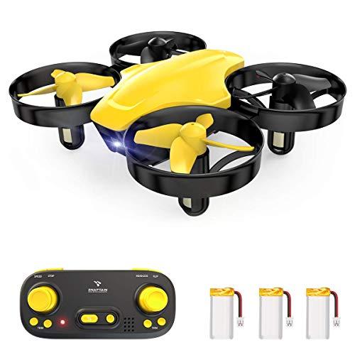 SNAPTAIN SP350 Mini Drone per Bambini, Quadricottero RC con Telecomando, Funzione Hovering, Rotazione del Cerchio, 3D Flip, Decollo Atterraggio a Un Tasto, Velocità Regolabile, Adatto ai Principianti