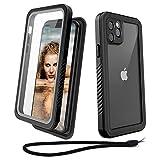 Beeasy iPhone 11 Pro Hülle,360 Grad Schutzhülle,Wasserdicht Handyhülle,Stoßfest Staubdicht und...