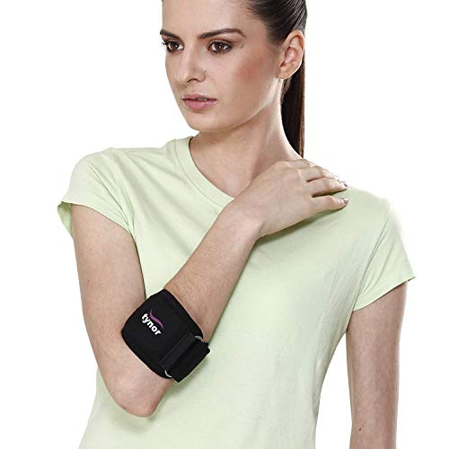 Tynor Tennis Elbow Support(Pain Relief,Forearm,Elbow)-Large