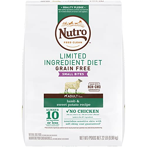 NUTRO Limited Ingredient Diet dry food for sensitive stomachs in dogs