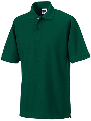 Russell - robustes Pique-Poloshirt - bis Gr. 6XL / Bottle Green, 4XL 4XL,Bottle Green