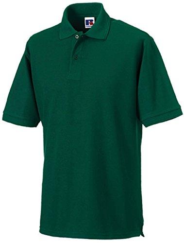Russell Europe: Robustes Poloshirt bis 6XL R-599M-0, Größe:5XL;Farbe:Bottle Green