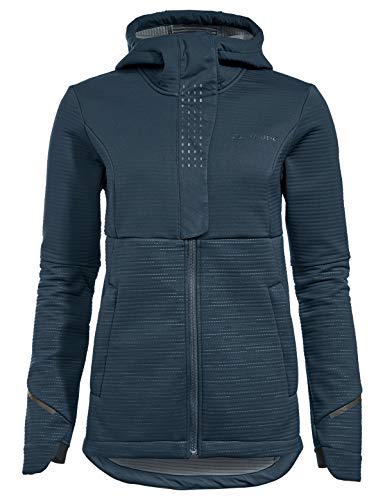 VAUDE Damen Women's Cyclist Winter Softshell Jacket Jacke, Blau (Steelblue), 38