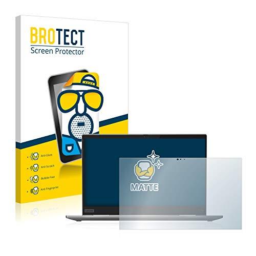 BROTECT Entspiegelungs-Schutzfolie kompatibel mit Lenovo ThinkPad X1 Yoga (5. Generation) Bildschirmschutz-Folie Matt, Anti-Reflex, Anti-Fingerprint
