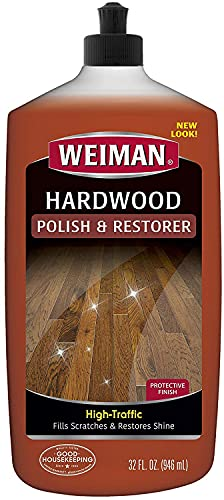 Weiman 123 Polishing Polishing & Restoring heavily stressed hardwood floors, natural shine, removes scratches, leaves a protective layer, 798ml volume