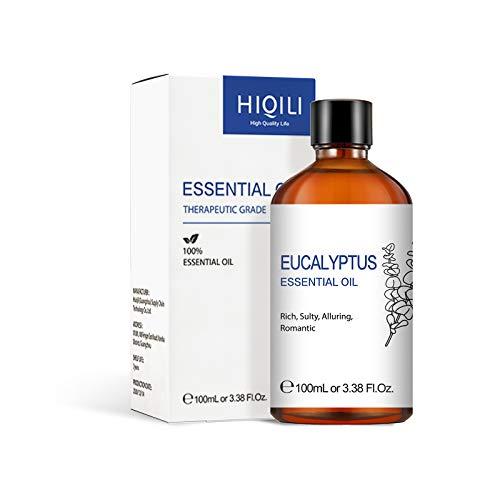 Aceite de eucalipto, aceite esencial de eucalipto de grado terap¨¦utico natural puro para difusor-100ml
