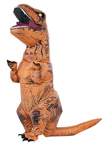 Rubies Child's The Original Inflatable Dinosaur Costume, T-Rex, One Size